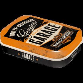 1st Plåtask med sockerfria mintpastiller Harley-Davidson GARAGE MC HD -  1st