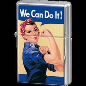 We Can Do It! TÄNDARE Feminist (bensin) -