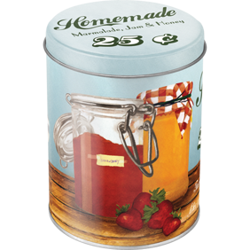 HOMEMADE Marmalade, Jam & Honey - Theres nothing like a sweet breakfast! Vintage Retro honung - 1st burk