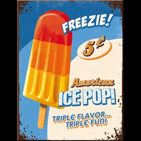 MAGNET Freezie! ICEPOP Glass Retro  - 1st