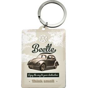 NYCKELRiNG VW Bubbla Beetle Enjoy the way to your destination *think small* typ 1  -