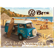 MAGNET Ready for the summer - VW SURFBUSS typ 2 Folkabuss Retro