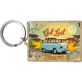 NYCKELRiNG VW Get lost BUSS typ 2  -