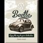MAGNET Beetle - VW Bubbla typ 1 Folkvagn Retro - 2st