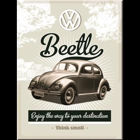 MAGNET Beetle - VW Bubbla typ 1 Folkvagn Retro - 1st