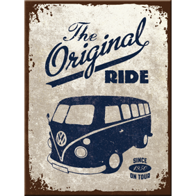 MAGNET The original ride - VW Buss typ 2 Folkabuss Retro -