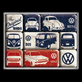 Magneter The original Ride VOLKSWAGEN Bubbla/Folkvagn/Buss/Golf typ 1 typ 2 -
