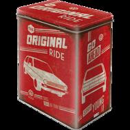 VW The original Ride GOLF BURK METALL 10,5x14,5x19,5cm Nostalgi Retro