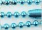 KEDJA välj färg (kulkedja) 2mm x 70cm - blå ca 70cm lång
