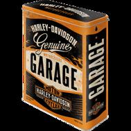 Harley-Davidson GARAGE BURK METALL 26,5x16x8cm XL 4liter