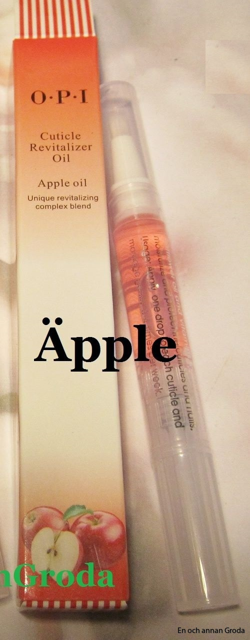 olja  äpple