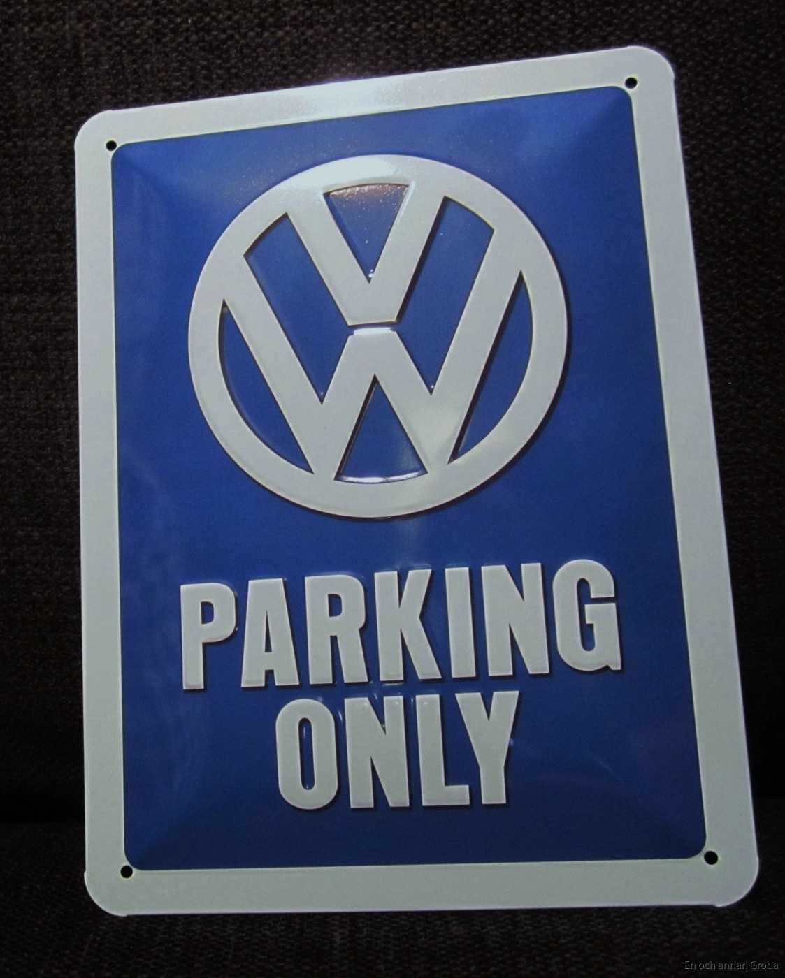 vw parking only