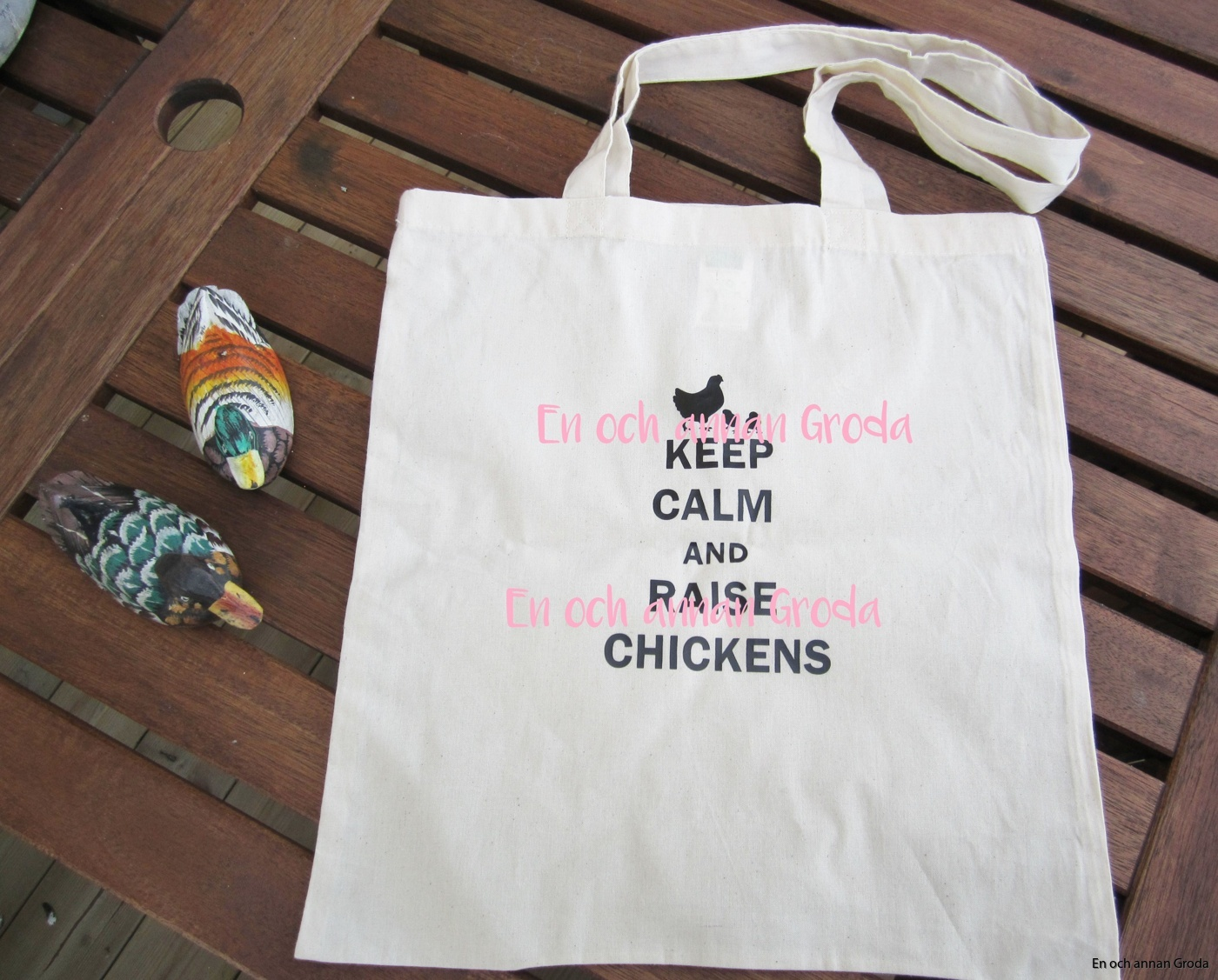 kasse keep calm chickens #2