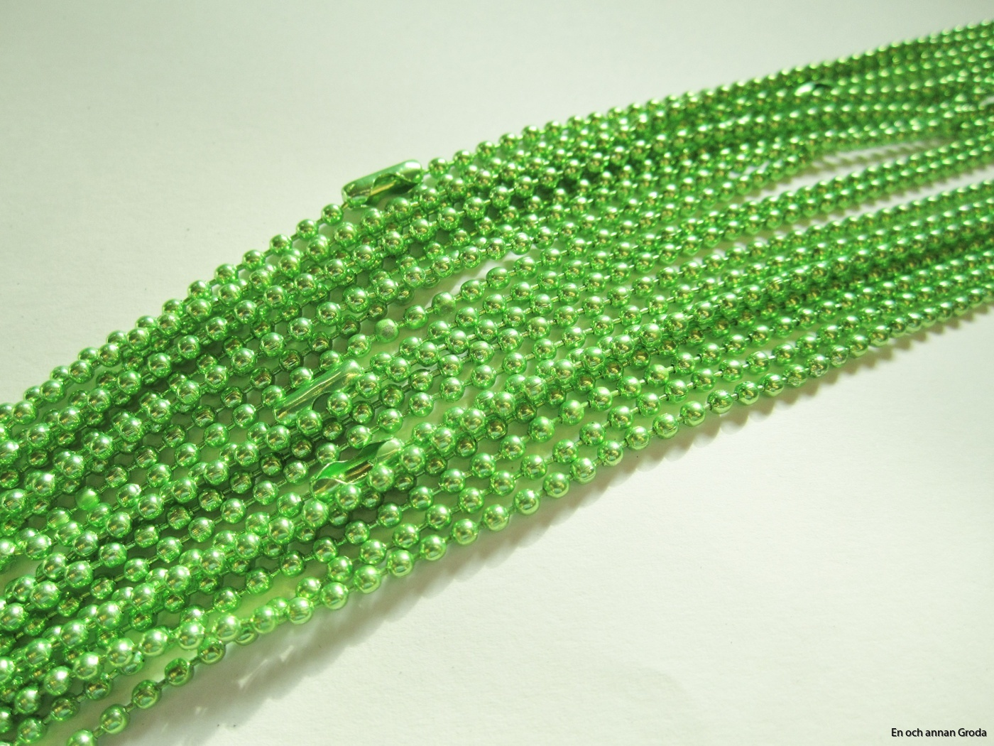 kulhls - grönt 2mm