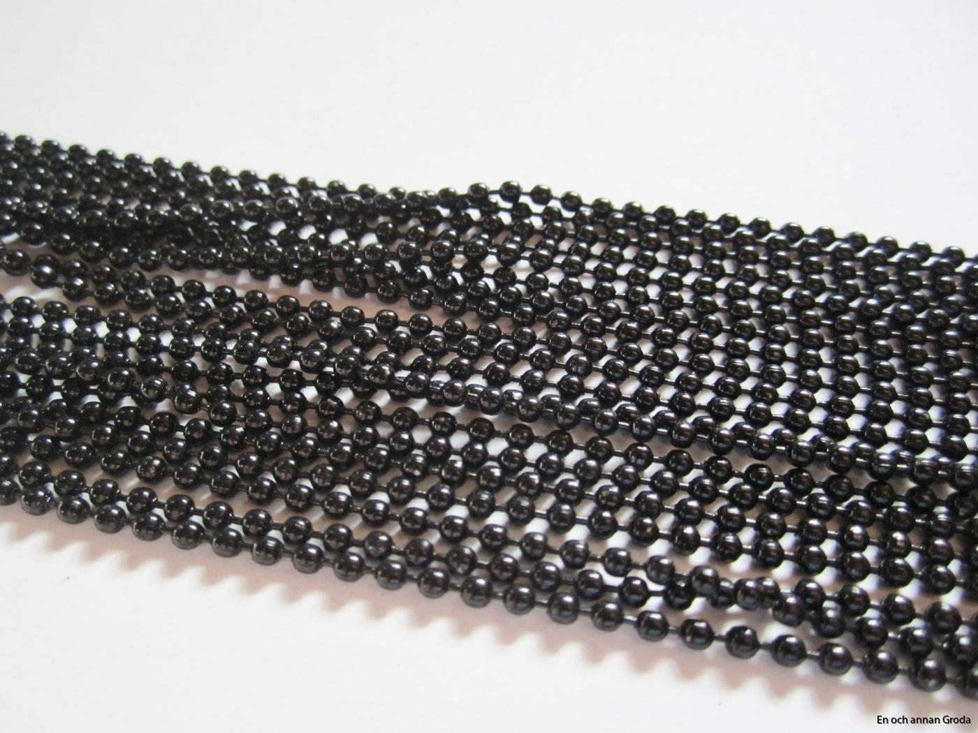 kulhls - svart 2mm