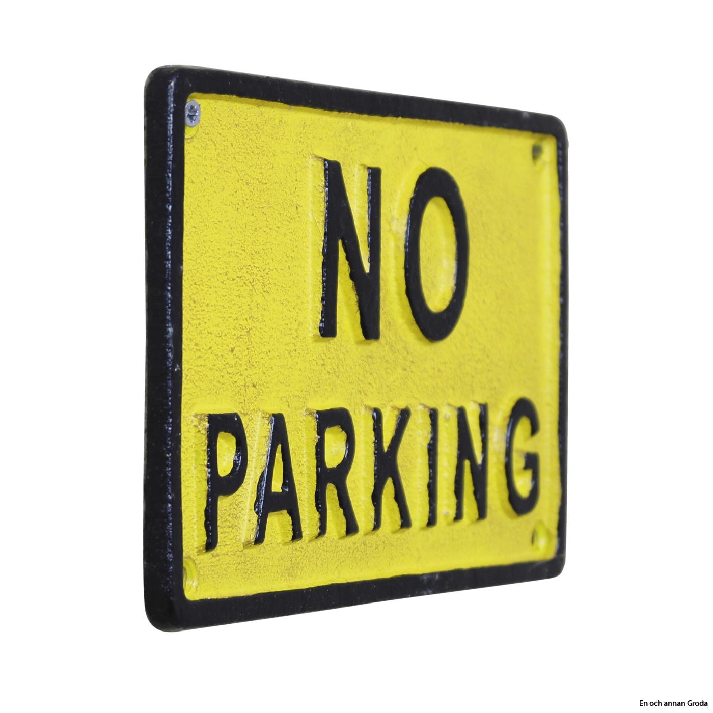 no park