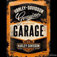 Harley-Davidson GARAGE METALLSKYLT