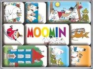 MUMIN SET MAGNETER 9-pack
