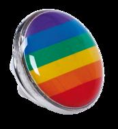 PIN Regnbåge (pride)