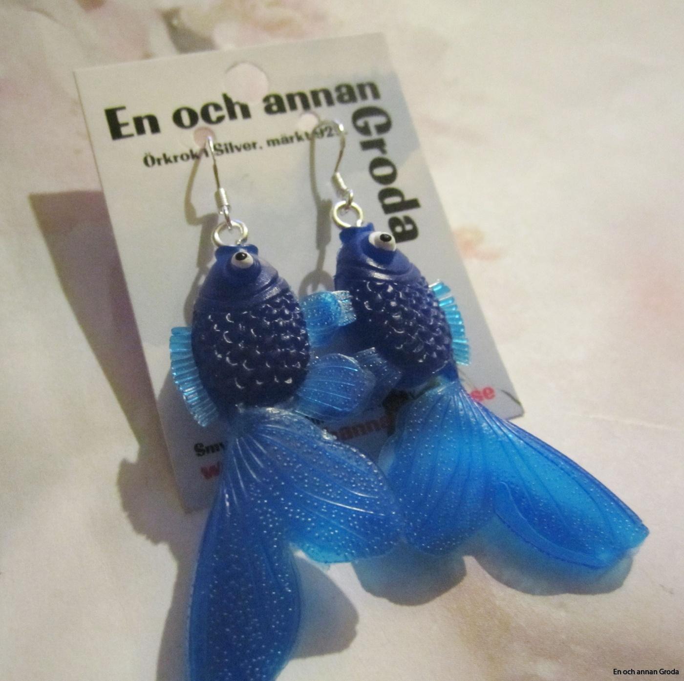 fisk örh blå