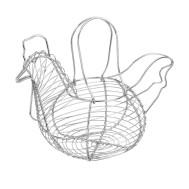 KORG av metall (äggkorg) HÖNS