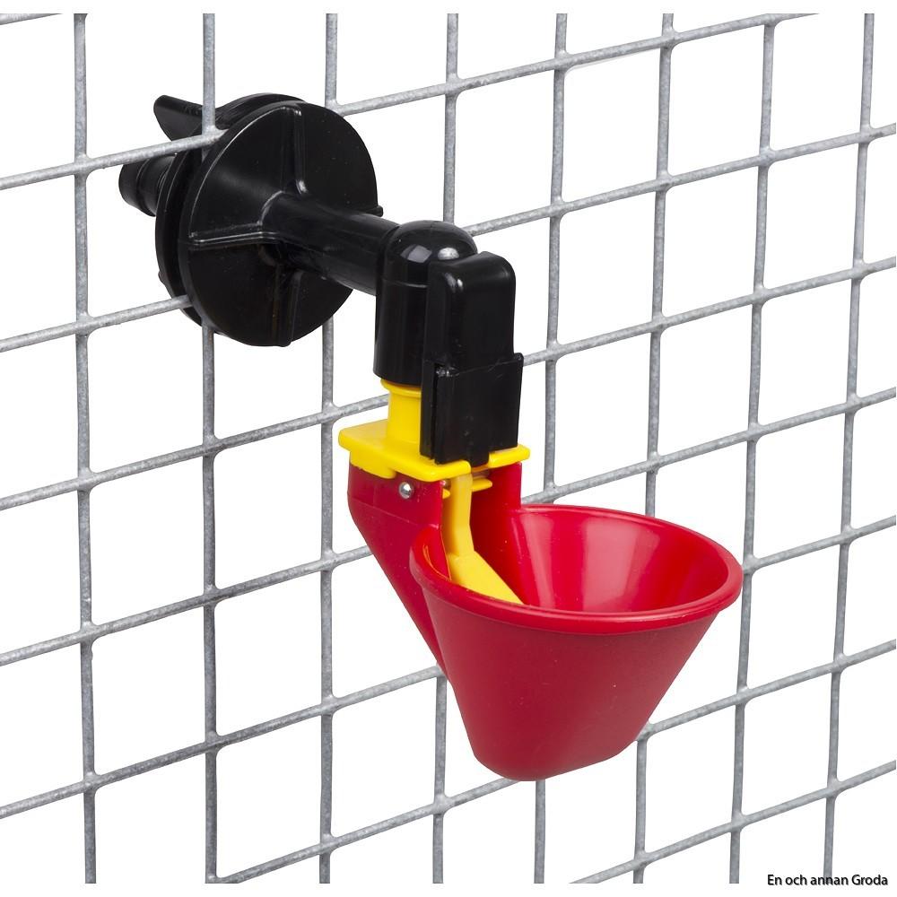 o röd kopp nätfäste