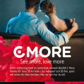 CMore advertising