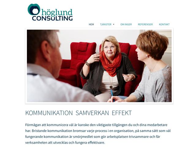Ny webb för Höglund Consulting