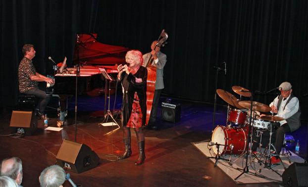Ann Kristin Hedmark & Jazzland trio, Foto Lennart Andersson