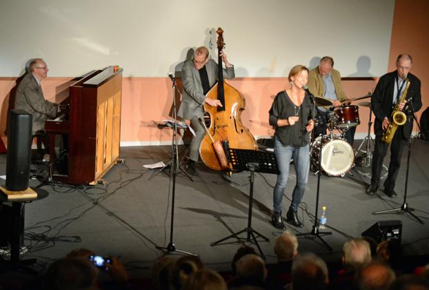 Bernt Rosengren Quartet med Christina Gustafsson Foto: Mats Blomberg