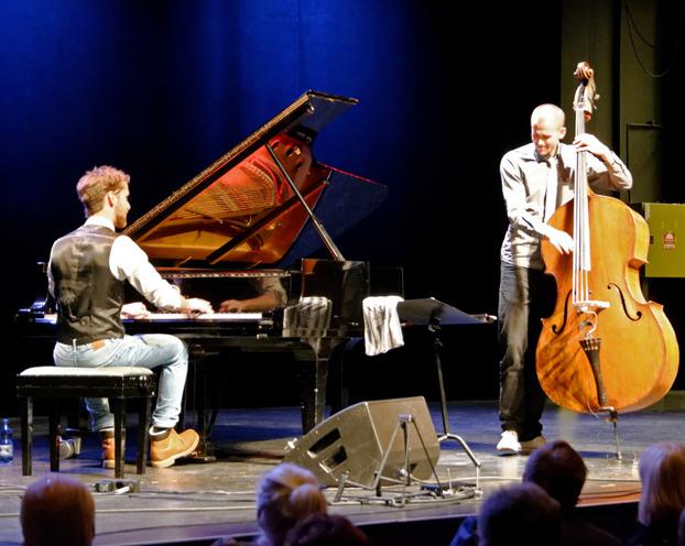 Joel och Josef Foto: Mats Blomberg