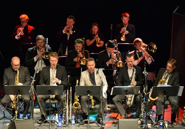 Ekdahl Bagge Big Band Foto: Mats Blomberg