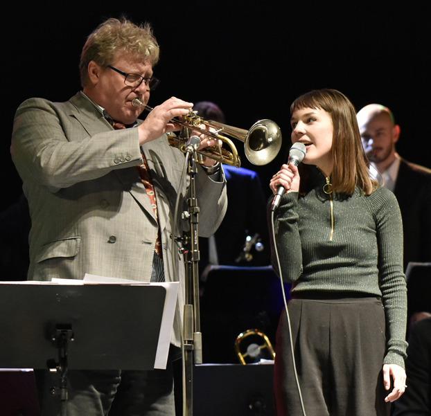 Lasse Lindgren o Isabella Lundgren Foto: Mats Blomberg