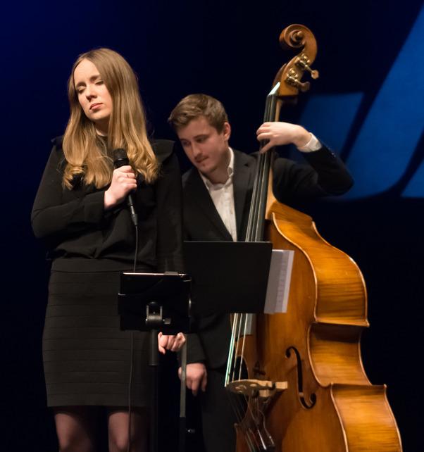 Ellen Andersson o Samuel Löfdahl Foto: Mats Blomberg