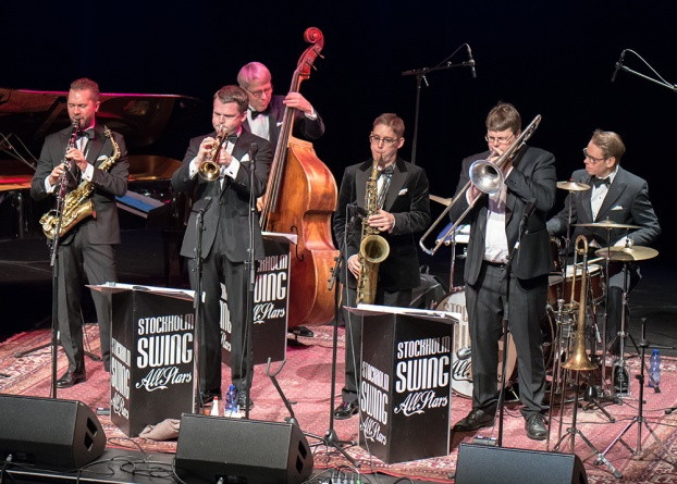 Stockholm Swing All Stars Foto: Mats Blomberg