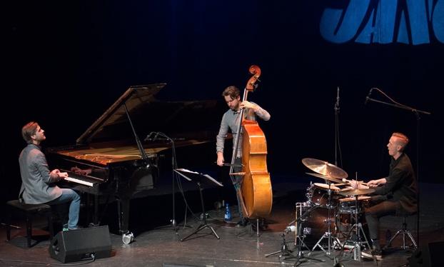 Joel Lyssarides trio Foto: Mats Blomberg