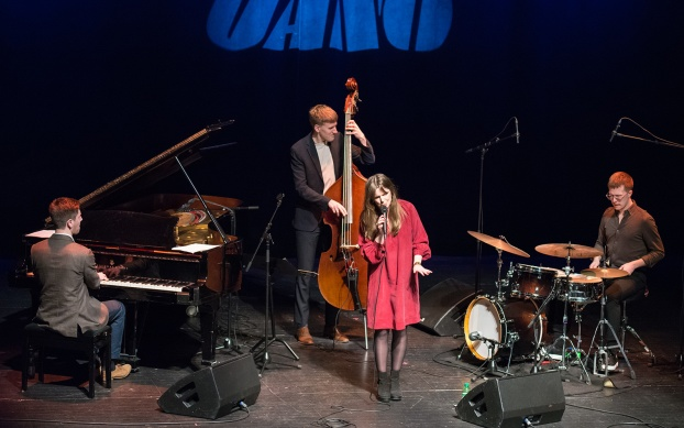 Amanda Ginsburg Quartet Foto: Mats Blomberg
