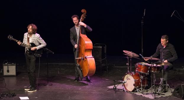 Gustav Lundgren trio Foto: Mats Blomberg