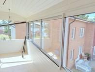 Wiktorssons Bygg byggfirma Åmmeberg, inglasad balkong