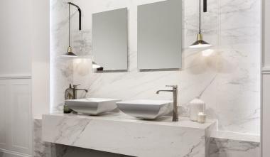 Stone Calacatta, marmorlook