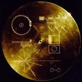 Voyager Golden Record - den förgyllda grammofonskiva som NASA skickade med rymdsonderna Voyager 1 och 2