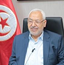 Rached Ghannouchi, islamisterna Ennadhas partiledare