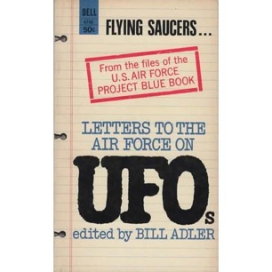 Adler, Bill (editor): Letters to the Air Force on UFOs (Pb)