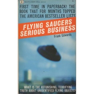 Edwards, Frank: Flying saucers - serious business (Pb)