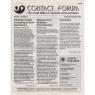 Contact Forum (1993-1996) - Vol 1 n 2 - Sept/Oct 1993