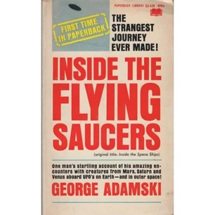 Adamski, George: Inside the flying saucers (Pb)