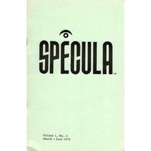 Specula (1978-1983)