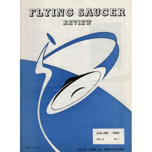 Flying Saucer Review (1960-1961) - Vol 6 no 1 - Jan/Feb 1960
