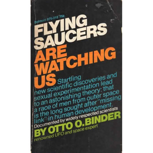 Binder, Otto O.: Flying saucers are watching us (Pb) - Good but worn cover (1968)