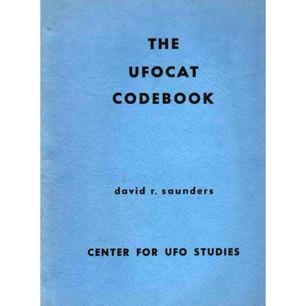 Saunders, David R.: The UFO cat codebook